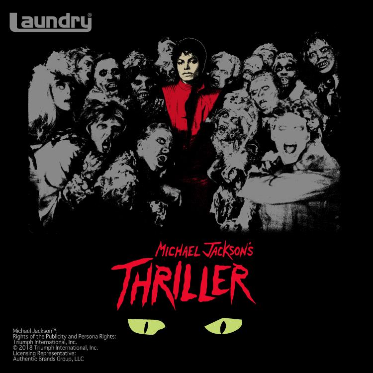 マイケル・ジャクソン by Laundry